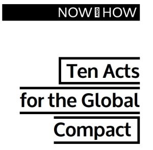 Ten acts for the Global Compact